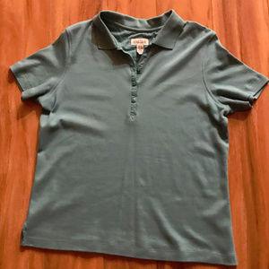 Classic Elements Green Short Sleeve Polo Shirt